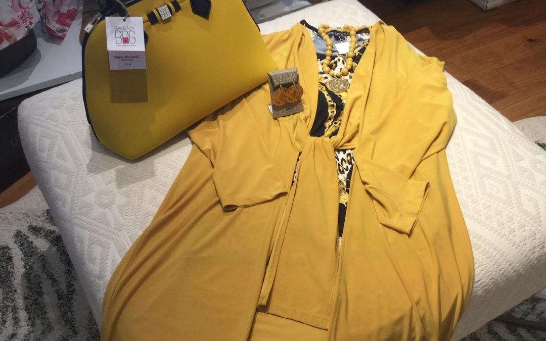Robin's Pick – Mustard Duster and Bag